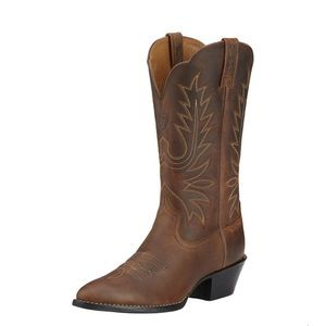 Ariat Round Toe Western Cowboy Boots Sz 7 NWT
